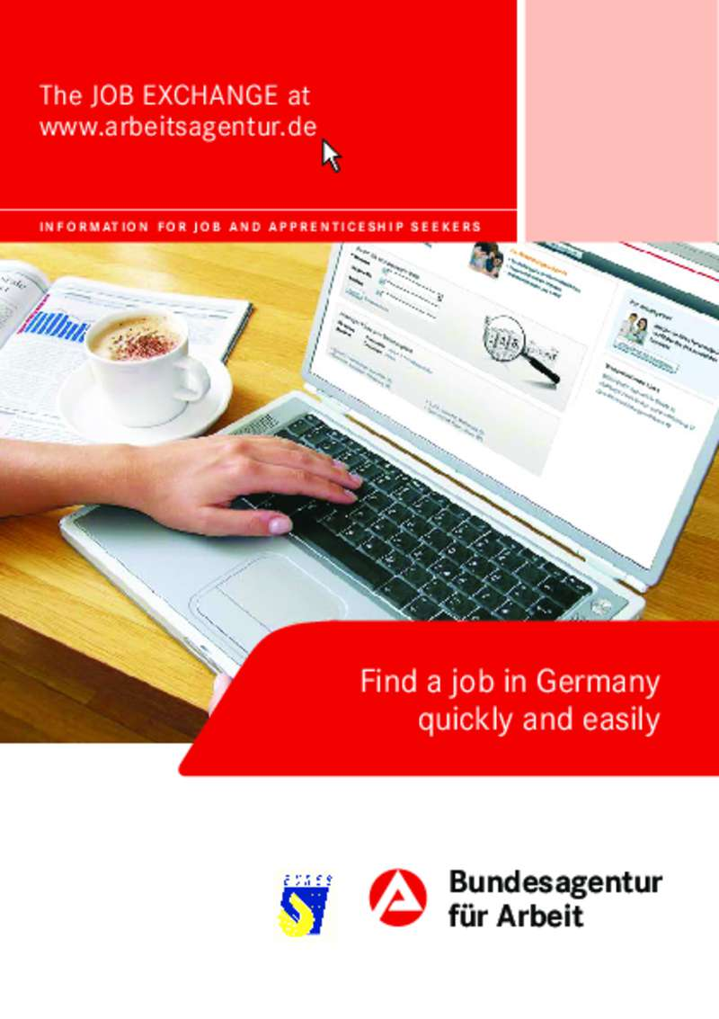Dokument anzeigen: How to find a job in Germany